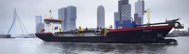 Ecodelta in Rotterdam Harbour