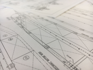 Shipdesign drawing architect