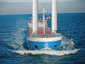 van Dam Shipping with Ventifoils rendering
