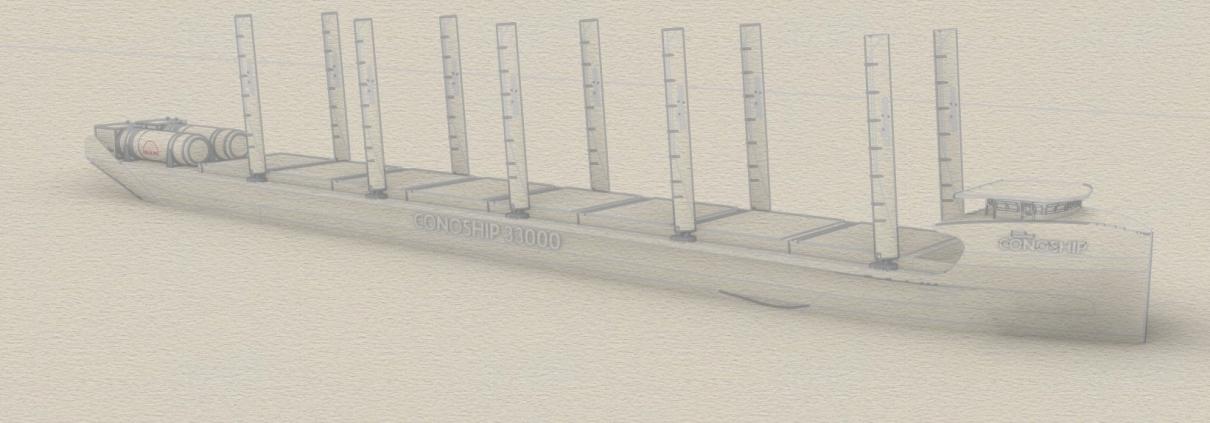 Conoship Zero Emission Concept