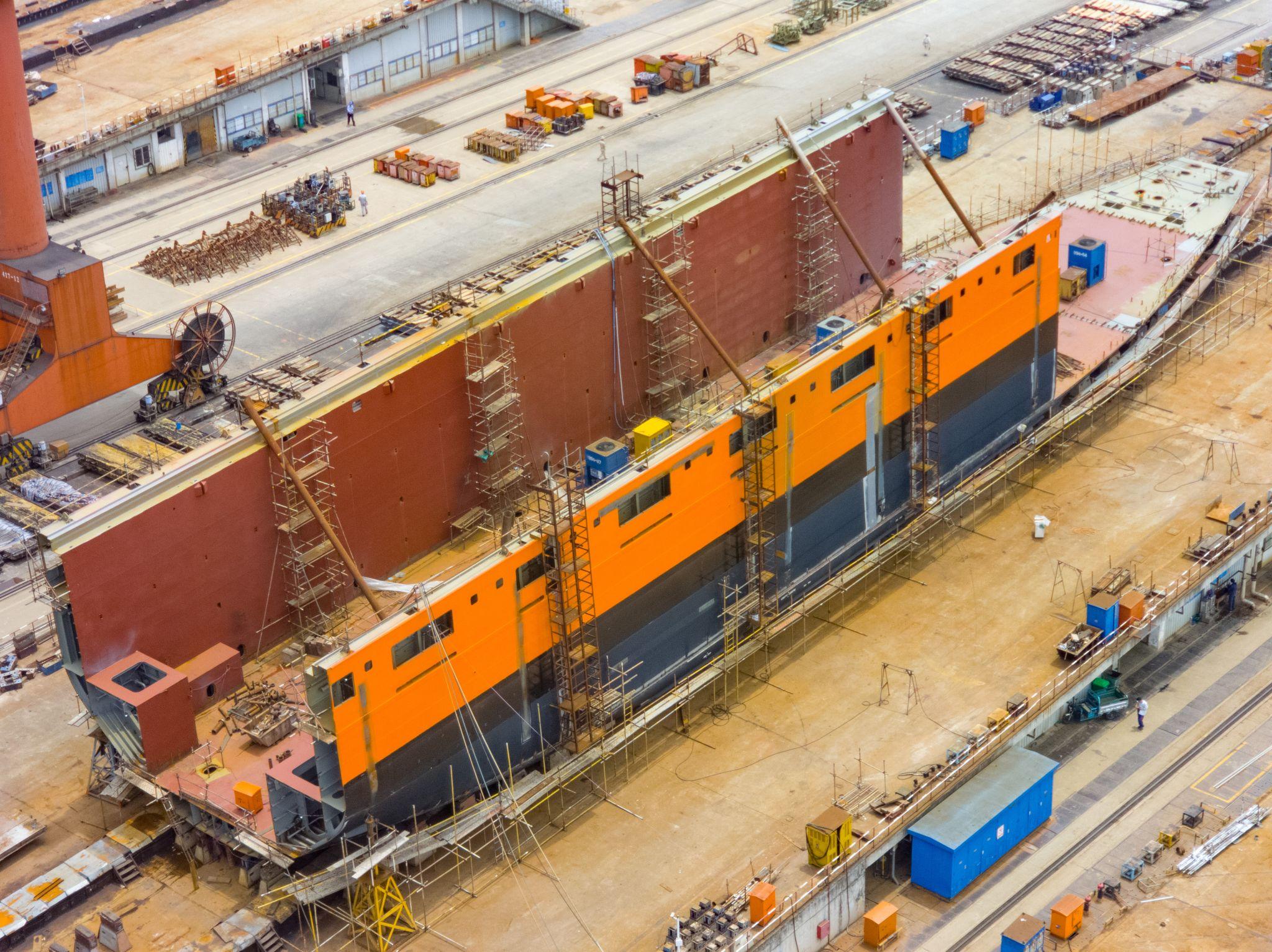 Newbuild Wijnne Barends_Lady_Wuhu Shipyard